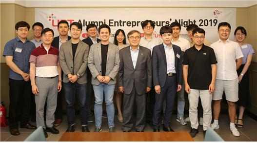 UST Hosted 'Alumni Entrepreneurs' Night 2019'의 대표사진